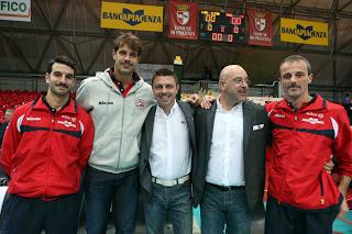 VOLLEY Piacenza, la squadra con i baffi