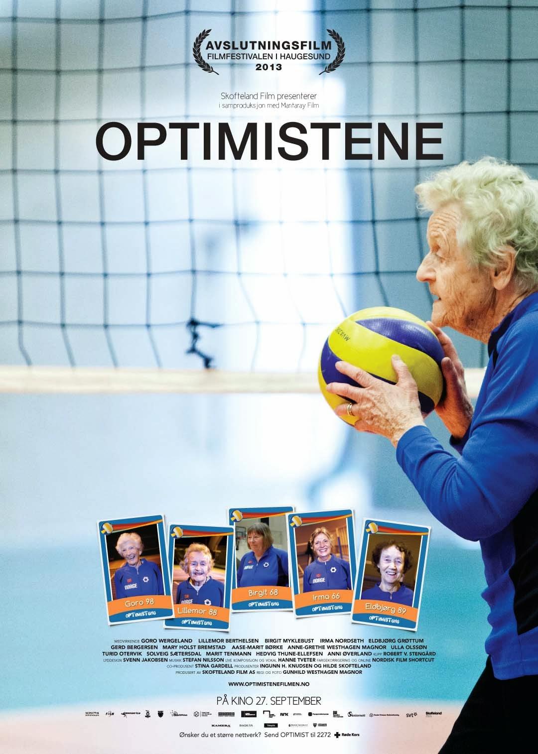 VOLLEY & CINEMA Optimistene, il volley senza età delle nonne norvegesi