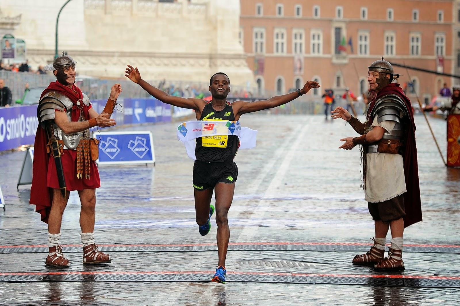 ATLETICA Doppietta etiope alla 20ª Maratona di Roma