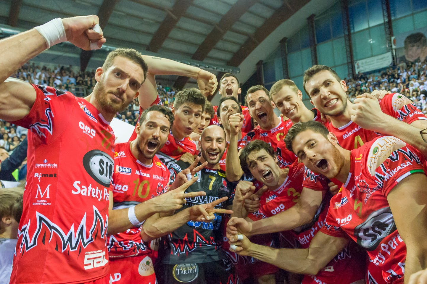 (fanta)VOLLEY Cenone Sir Safety, cipolla bandita dal menù