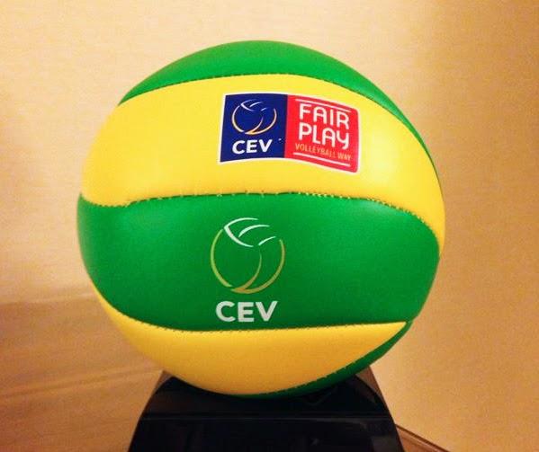 VOLLEY La Champions League con i palloni gialloverdi…del Brasile