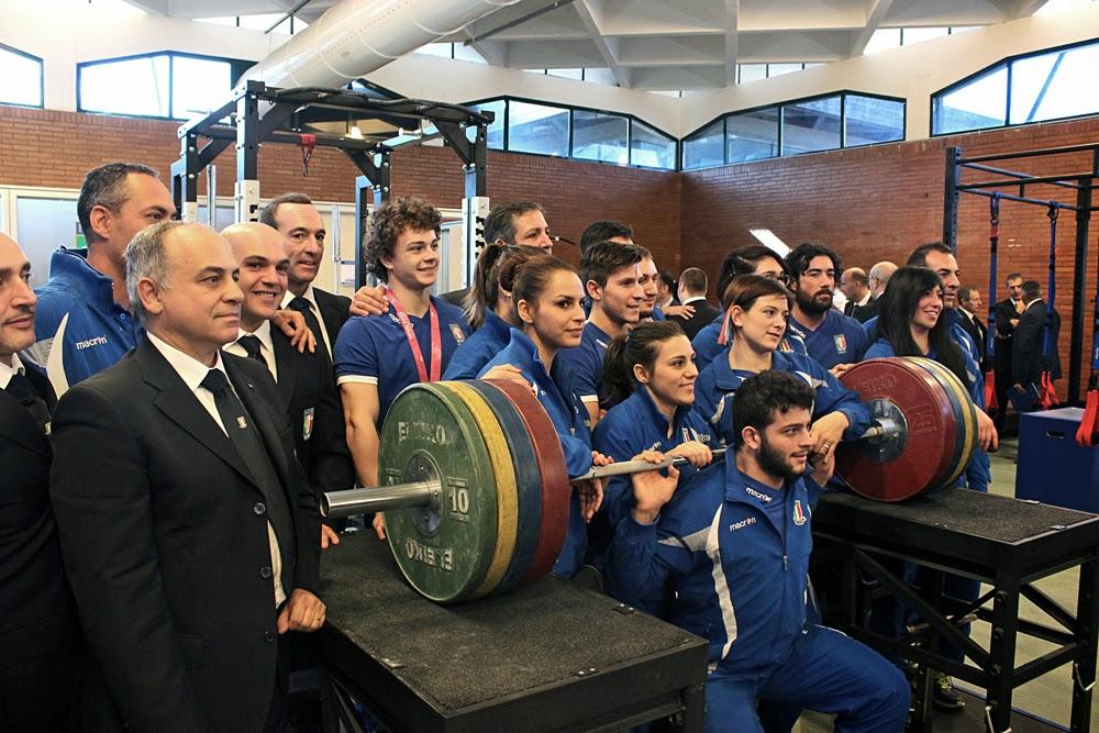SOLLEVAMENTO PESI  Dieci anni senza doping, gli azzurri all'esame Mondiali