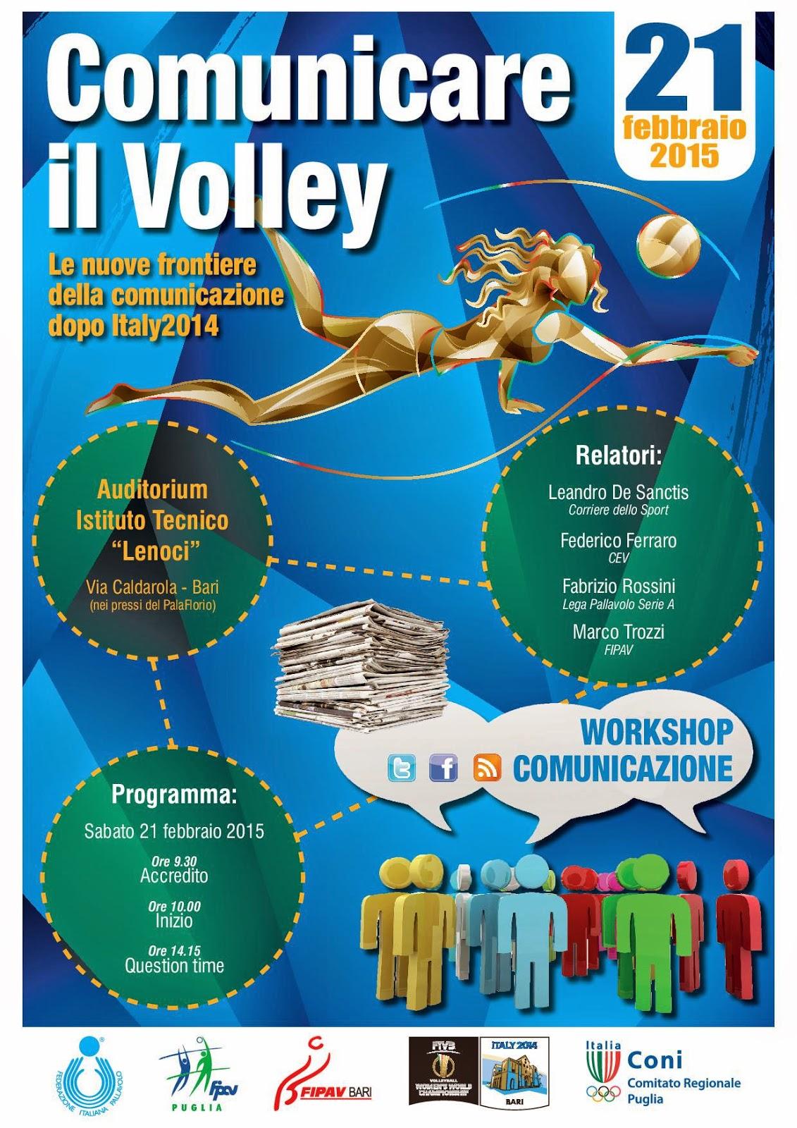 VOLLEY Comunicare con il Volley, la lezione di Bari