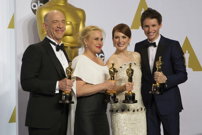 CINEMA Oscar 2015: tutti i vincitori
