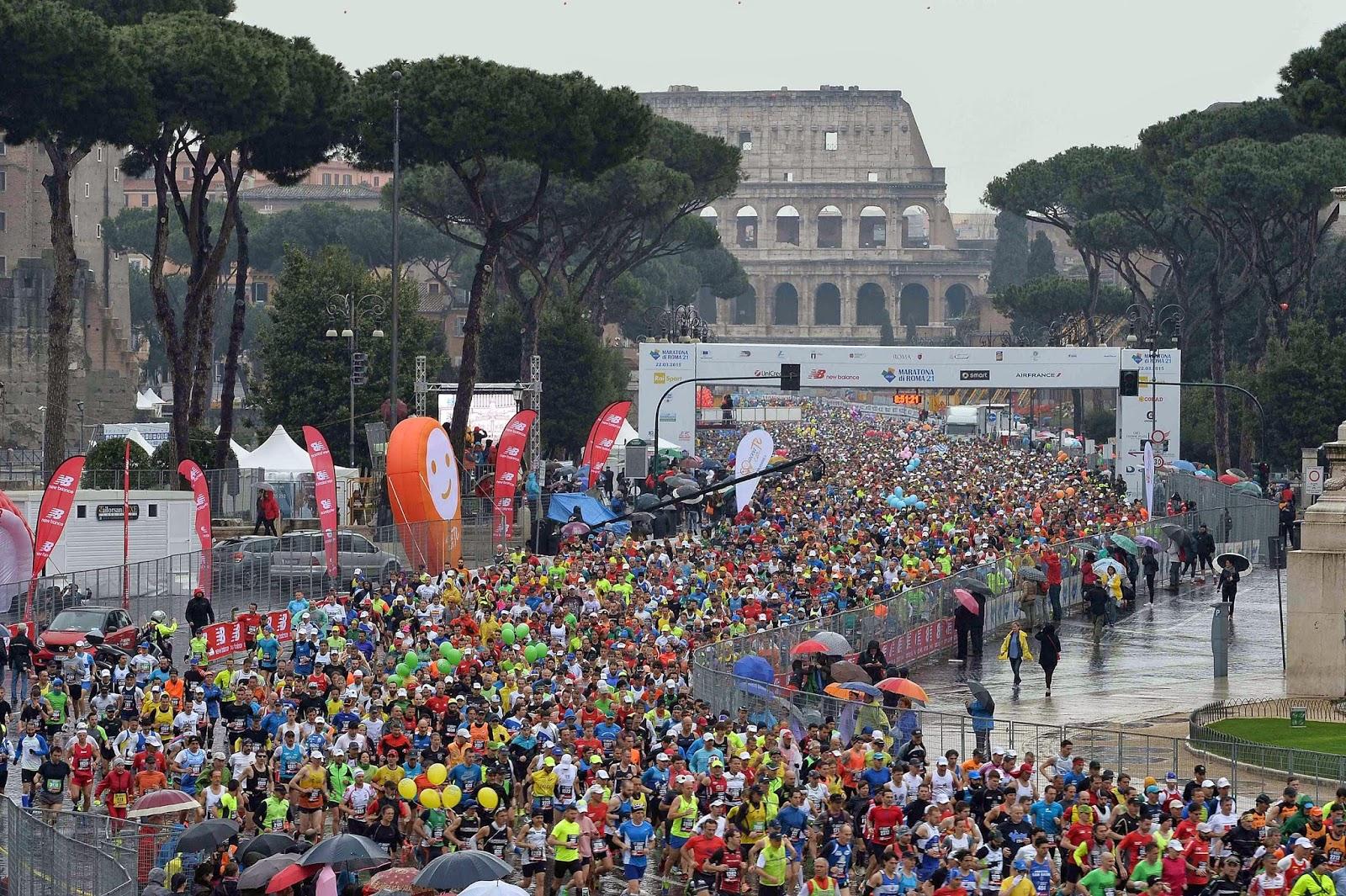 ATLETICA Il sogno olimpico di Castrucci: «La maratona 2024 al Colosseo»