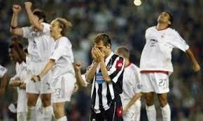 8e38d23d4813e0 CALCIO Champions League, le finali della Juve (7) 2003: Milan-Juventus 0-0  (3-2 ai rigori)