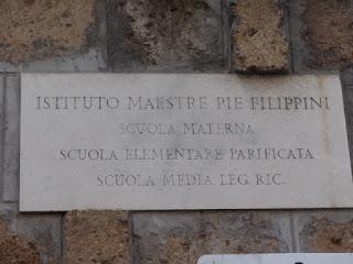 """ROMA Maestre Pie Filippini e il menefreghismo della suore """"rumorose"""""""