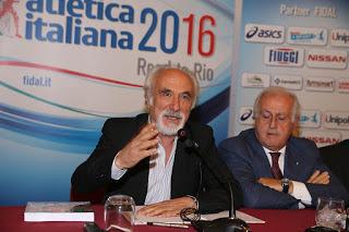 ATLETICA Giomi da Fiuggi: «Pronto per un altro quadriennio: l'atletica italiana non è quella di Pechino»