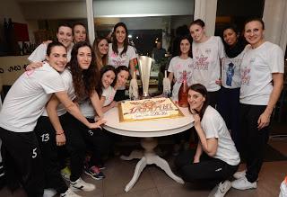 VOLLEY Volley 2002 Forlì: la festa per la Coppa Italia A2 la offre il ristorante sostenitore