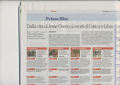 CINEMA & MEDIA Quando Owens perse la s…