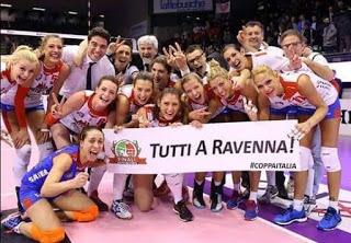 VOLLEY Coppa Italia a Ravenna: occasionissima per Nordmeccanica e Pomì