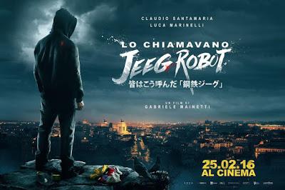 CINEMA Lo chiamavano Jeeg Robot