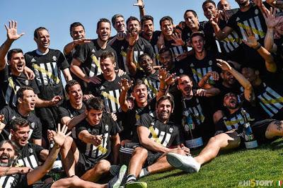 CALCIO La Juventus tricolore e quell'articolo beneaugurante del 15 dicembre