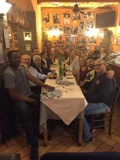 VOLLEY Hernandez, metti una sera a cena con la Roma che fu