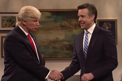 SOCIETA' Alec Baldwin imita Trump al Saturday Night Live