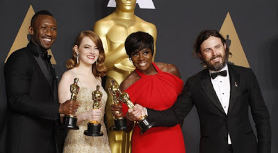 CINEMA Oscar 2017: da Moonlight a La La Land, Casey Affleck e Emma Stone