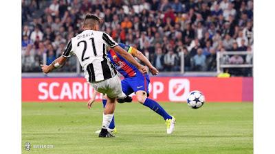 CALCIO Juventus-Barcellona 3-0