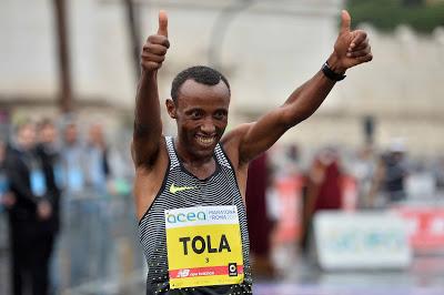 ATLETICA Tola e Tusa, l'Etiopia regna nella Maratona di Roma