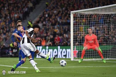 CALCIO Barcellona-Juventus 0-0