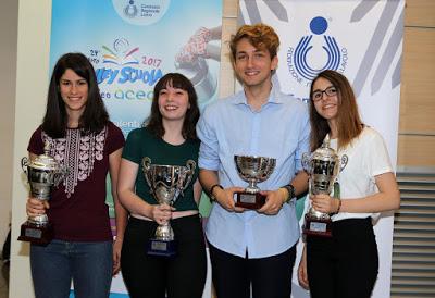 VOLLEY I concorsi di Volley Scuola: tris Vivona, lo slogan sull'acqua premia il Talete