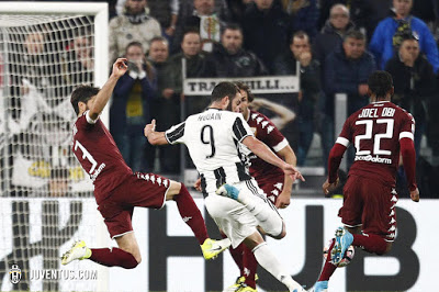 CALCIO Juventus-Torino 1-1