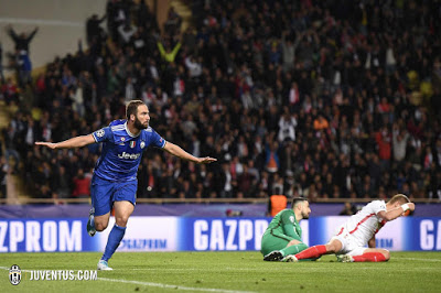 CALCIO Monaco-Juventus 0-2