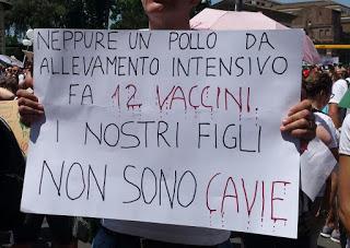 SOCIETA' Corteo per i vaccini liberi, ma sui giornali regna la disinformazione
