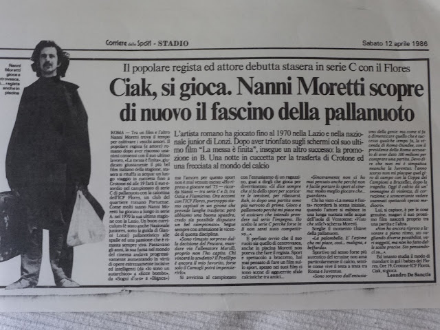 ALBUM 1/ Nanni Moretti e la pallanuoto (1986)