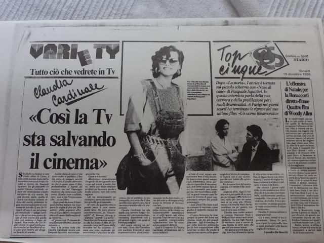 ALBUM 2/ Claudia Cardinale, il cinema, la Tv (1986)