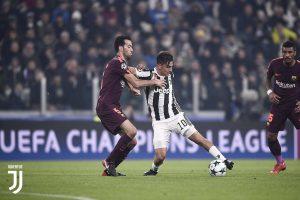 CALCIO Juventus-Barcellona 0-0