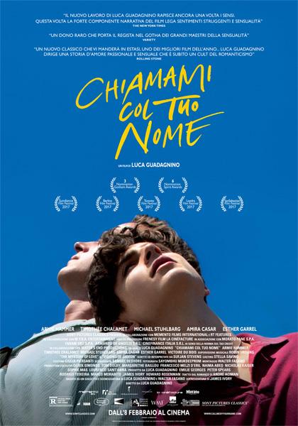 CINEMA Chiamami col tuo nome, il film di Guadagnino