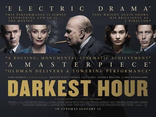 CINEMA L'ora più buia, con Gary Oldman…Churchill