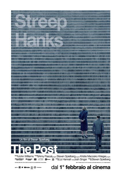 CINEMA The Post, il film di Spielberg