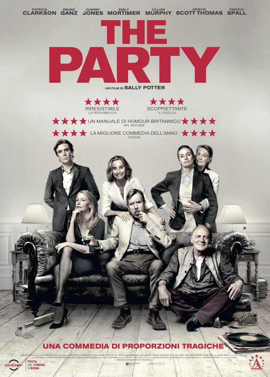CINEMA The Party, il film di Sally Potter