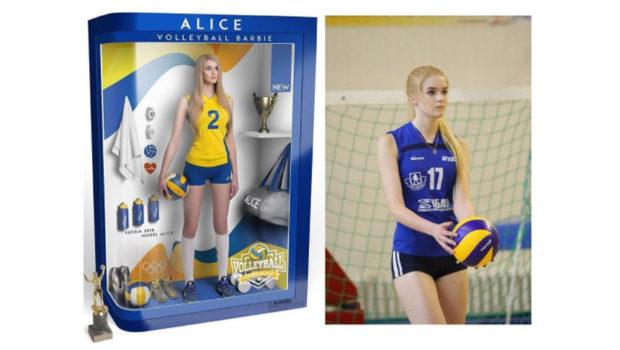 VOLLEY Alisa Manyonok, dal volley alla moda