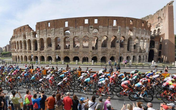 ROMA ha dato buca al Giro d'Italia