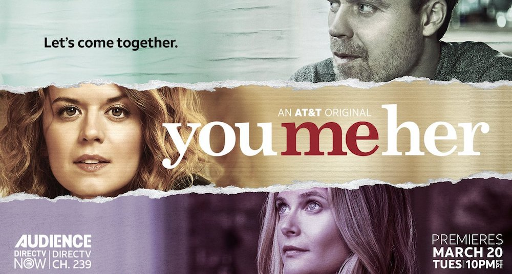 CINEMA You me her, serie tv Netflix