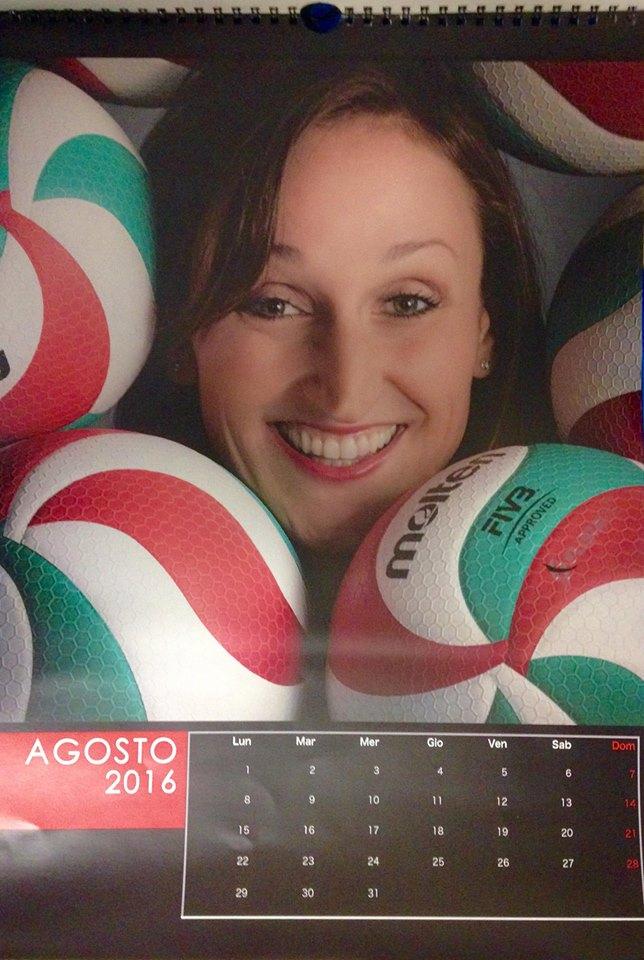 Raffaella Calloni, pallavolista