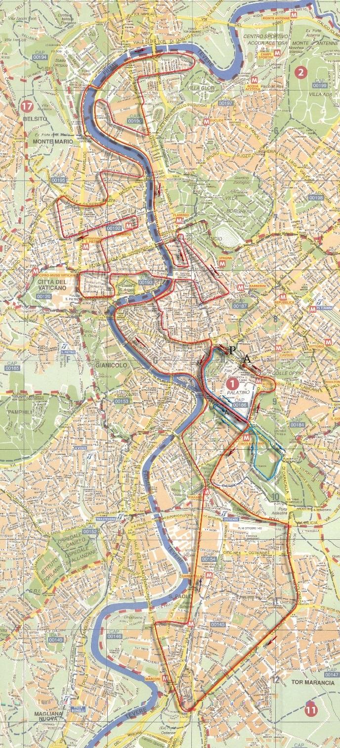 RUNNING Maratona di Roma, tanto pe' cambià