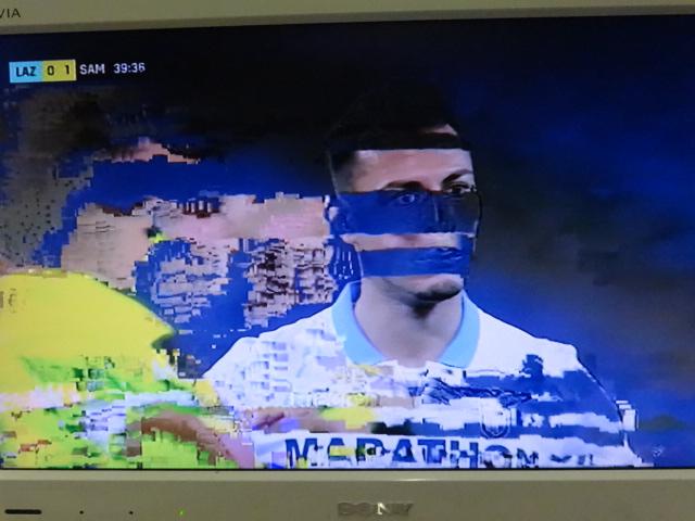 CALCIO E TV Su Dazn blucerchiati e pixellati