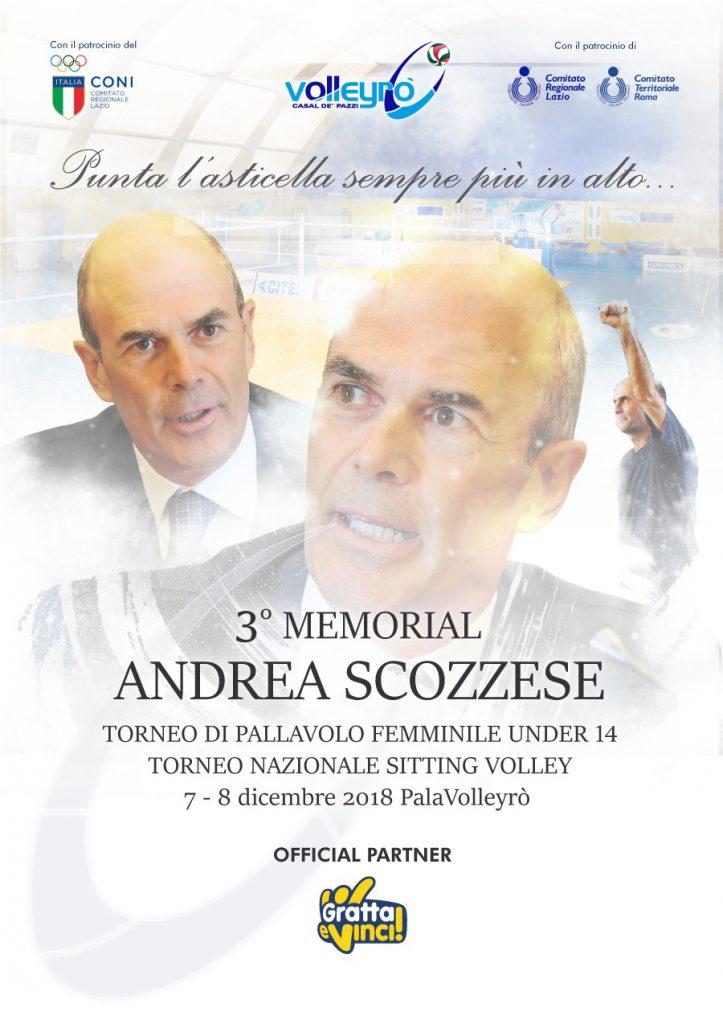 VOLLEY Volleyrò in ricordo di Andrea Scozzese
