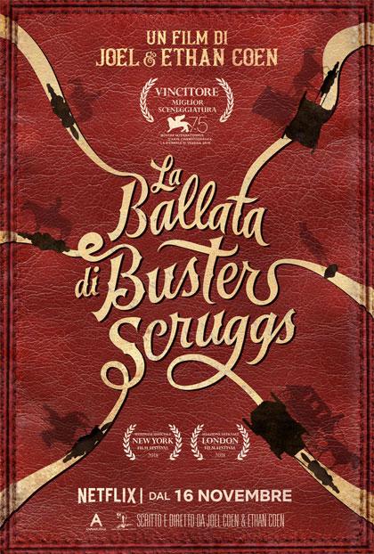 CINEMA La ballata di Buster Scruggs