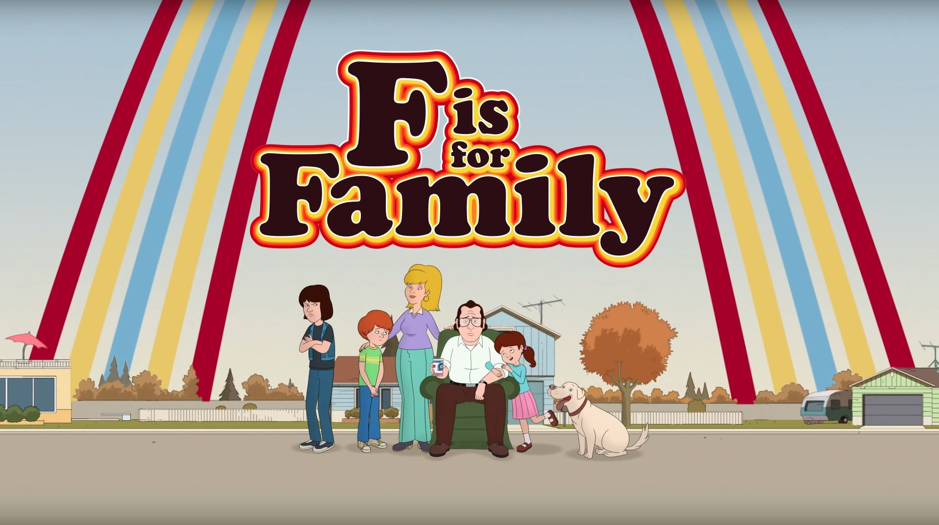 SERIE TV F Is For Family