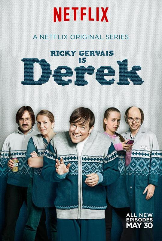 SERIE TV Derek, su Netflix