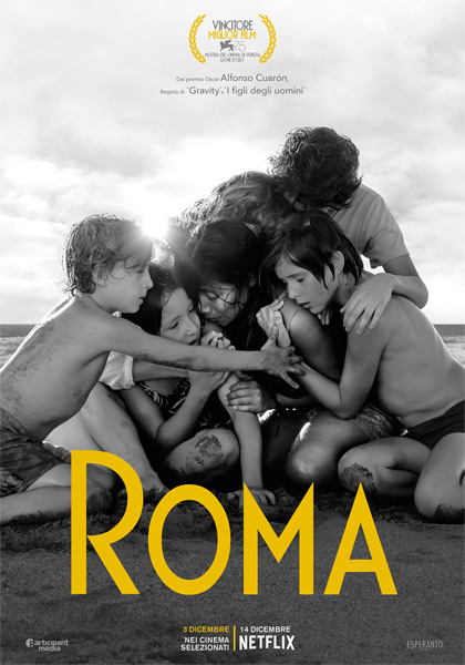 CINEMA Roma, su Netflix