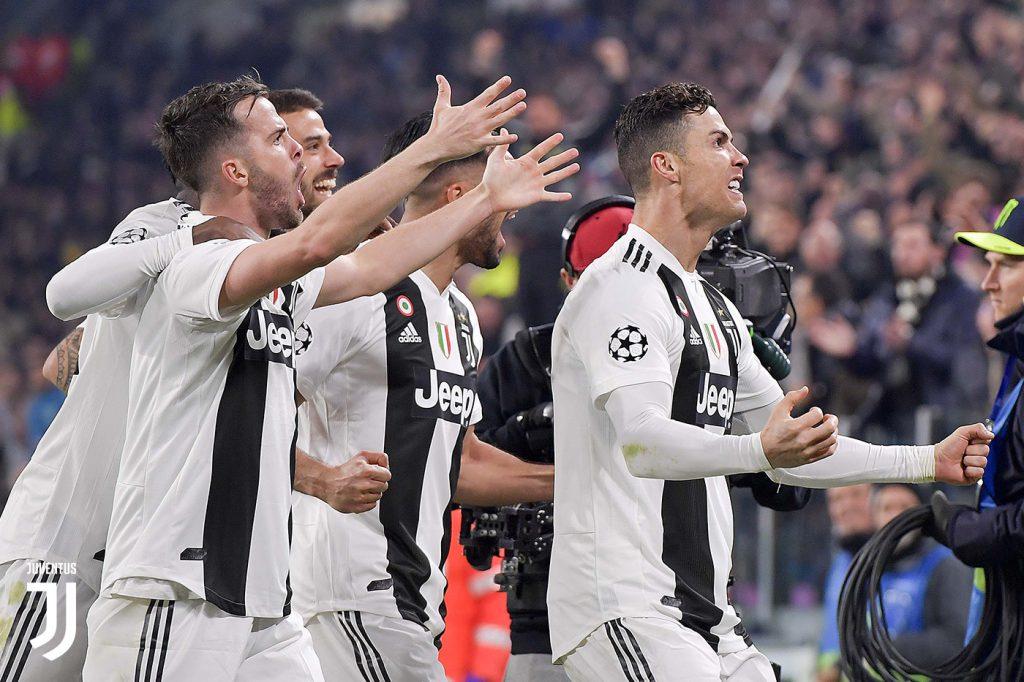 CALCIO Juventus-Atletico Madrid 3-0 - VISTO DAL basso