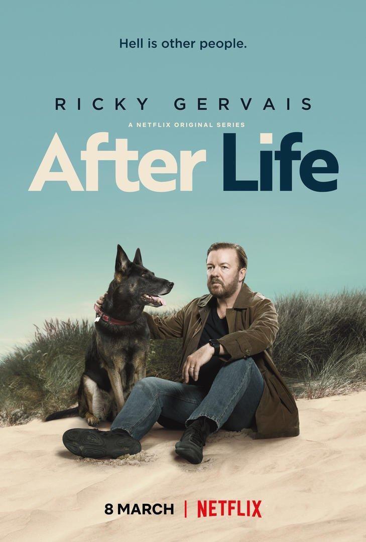 SERIE TV After Life, su Netflix