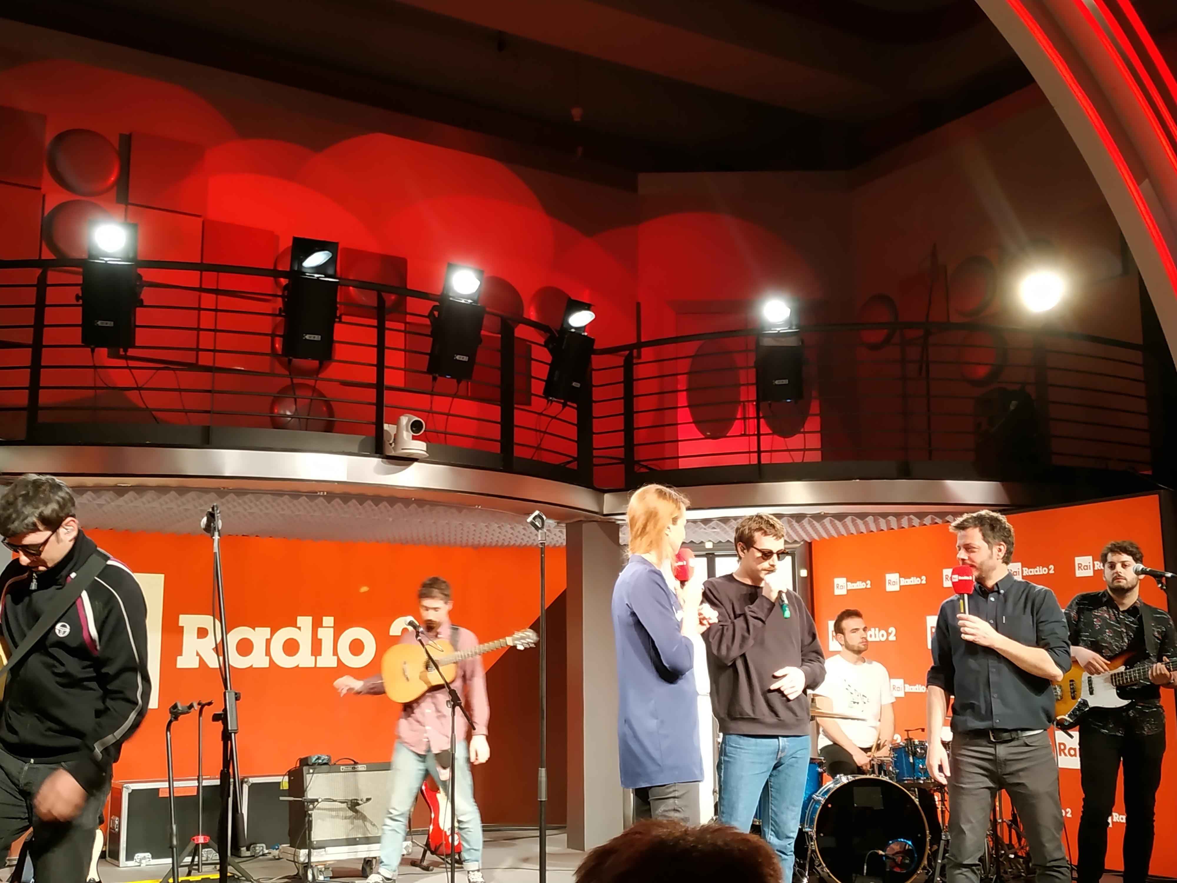 MUSICA Franco 126 a Rai Radio2