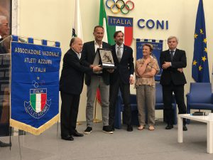 SPORT Azzurri d'Italia: premi a Tofoli, Rinieri e Pigni