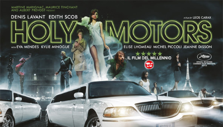 CINEMA Film Tv incorona Holy Motors